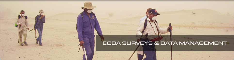 ECDA SURVEYS & DATA MANAGEMENT